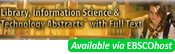 Library, Information Science and Technology Abstracts (LISTA)
